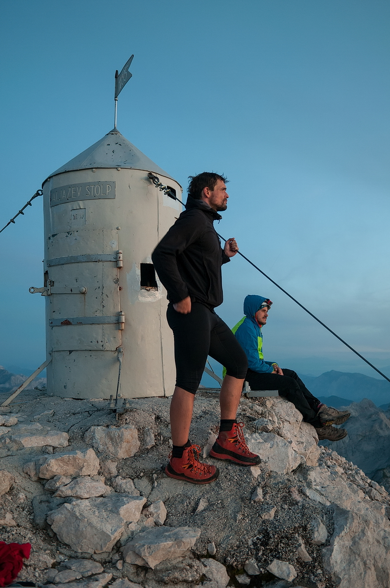 Night hike to Triglav